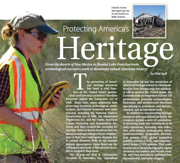 Protecting America's Heritage