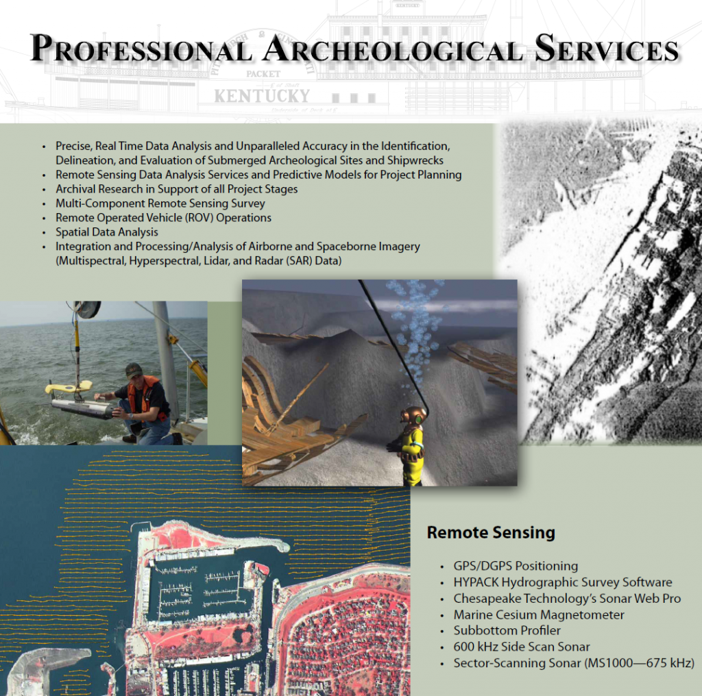 Cultural Resource Management & Nautical Archaeology